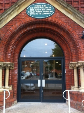 Curved Entrance doors