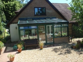 LivinRoom solid roof conservatory