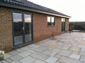 Aluminium door and window in Shrewton