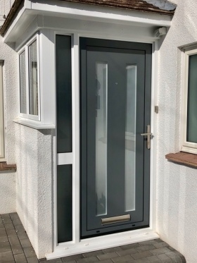 Grey Alitherm Door