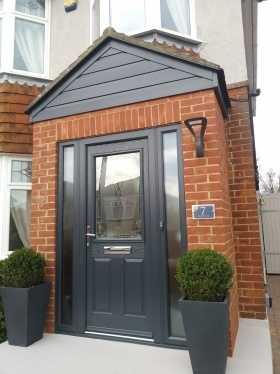 Grey Composite door in Salisbury